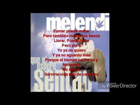 Con Tu Amor Es Suficiente - Melendi (Letra)