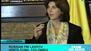 preview picture of video 'Russian Foreign Minister on Latam visit'