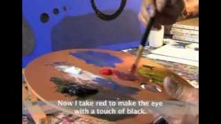 Understanding Colours & Painting in the Style of Joan Miro - Pebeo