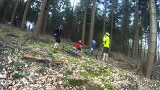 preview picture of video 'rando vtt la dunoise chateaudun (28) le16032014'