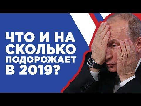 Что подорожает в 2019-2020? Инфляция в России, рост цен и прогноз на 2019-2020 год