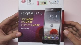 LG Optimus L9 Unboxing & First Boot
