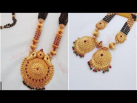 смотреть Traditional Mangalsutra Designs 2019
