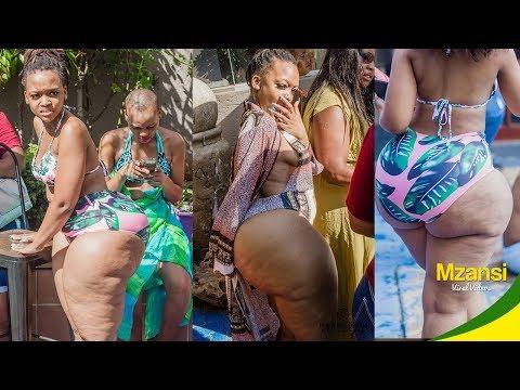 Download BBW Pool Party Twerk In Mzansi HD Mp4 3GP Video and MP3