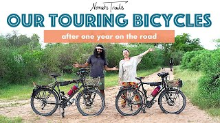 Our World Tour Bicycles After ONE YEAR On The Road - REVIEW