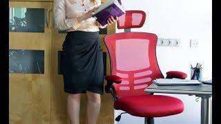 """Офисное кресло Ragusa 27715 Black от компании Компания """"TECHNOVA"""" - видео"""