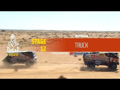 【ダカールラリーハイライト動画】ステージ12 トラック部門のハイライト