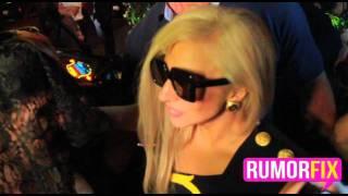 Exclusive: Crazy Fan Screams At Lady Gaga