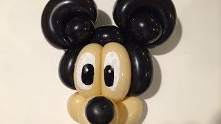 簡単 バルーンアート ミッキーマウス ⑫ Balloon Art  Mickey Mouse