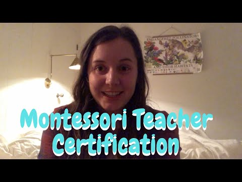 Getting Montessori Certified with NAMC | Hang with Hannah