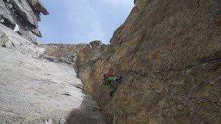Aiguille du Fou Face Sud Voie Américaine Chamonix Mont-Blanc montagne alpinisme - 10525