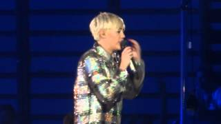 Summertime Sadness Cover - Miley Cyrus- Bangerz Tour - Birmingham NIA