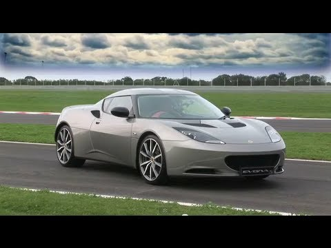 Lotus Evora Race Track Test
