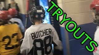 Kids HocKey  Crazy hockey tryouts for Triple AAA Team