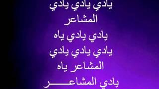 كلمات أغنية مشاعر - شيرين عبد الوهاب