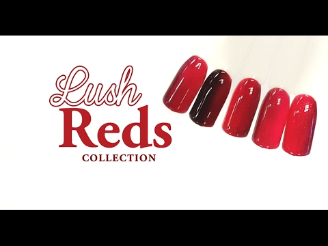 Lush Reds Nail Tutorial - Valentine's Ombre