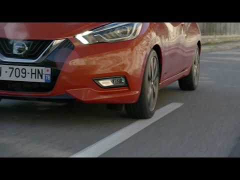 Nissan Micra intelligente rijbaanassistent