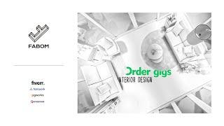 I will interior animation presentation and 3d