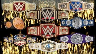 Current WWE Tittle Holders | All WWE champions Name & Titles June 2020 HD