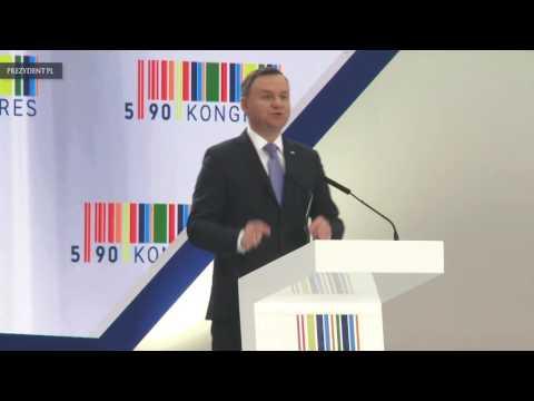Wystąpienie Prezydenta RP Andrzeja Dudy na Kongresie 590