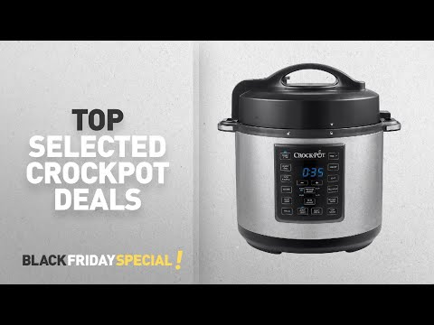 Black Friday Crockpot Deals: Crock-Pot Express Crock Programmable Multi-Cooker, Stainless Steel