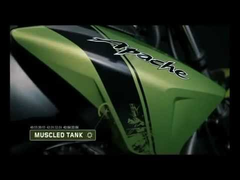 TVS Apache RTR series 2012 full features. new beast same bloodline