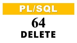 PL/SQL tutorial 64: PL/SQL Collection Method Delete in Oracle Database by Manish Sharma