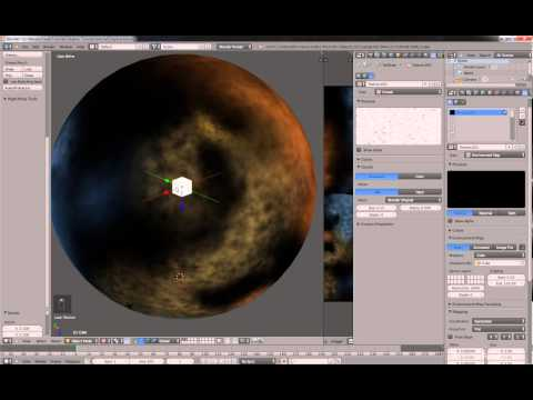 How to create Nebula Skybox in Blender and Unity3D