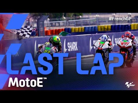 MotoE 2021 フランス ラストラップの様子を収めた決勝レース動画