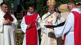 Poświęcenie Ogrodu Biblijnego w Puławach