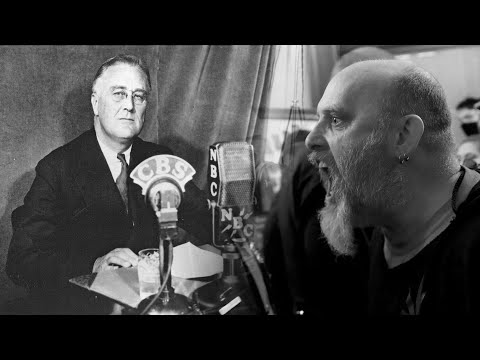 I went digging through some old FDR speeches and found something that fit the current moment so well that I made this video.