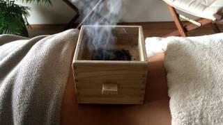 Moxibustione con la moxa box