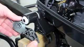 Двигатель Suzuki DT9.9AS от компании FISHLAND - видео