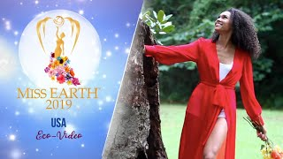 Emanii Davis Miss Earth United States of America 2019 Eco Video