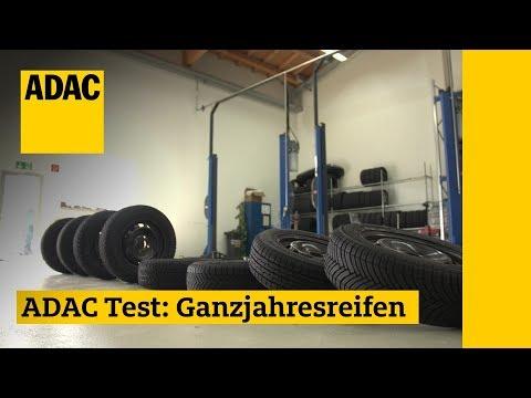 Ganzjahresreifen im Test I ADAC 2018