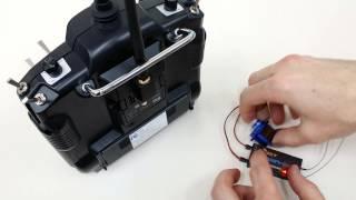 How to bind FrSky D8R-II Plus to XJT module