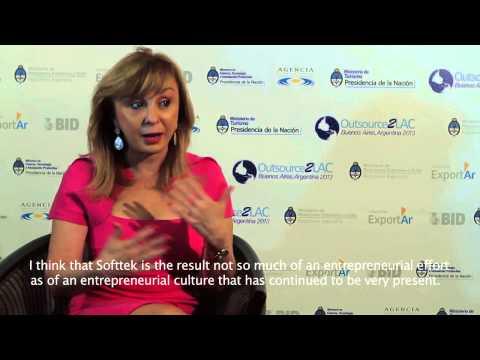 Entrevista con Blanca Treviño, CEO de Softtek