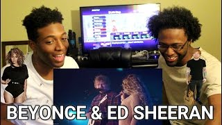 Beyonce ft. Ed Sheeran - Drunk in Love (Acoustic) (REACTION)