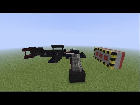 how to make a working gun in minecraft ps3