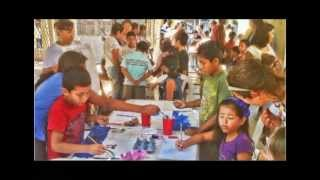 preview picture of video 'Art Contest at Huatulco Public Library (2 minutes)'