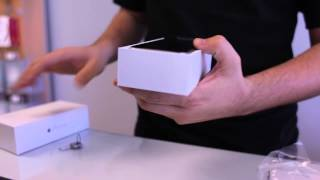 Iphone 6 unboxing sprint store gold and space grey