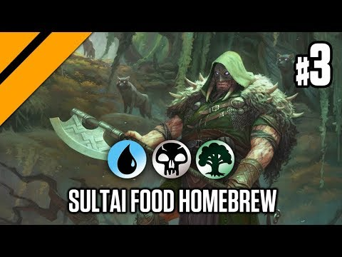 Bo3 Constructed - Sultai Food Homebrew P3