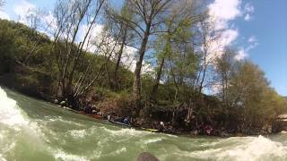 preview picture of video 'Sort Kayak Freestyle 2014'