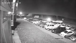 Момент смертельной аварии на ул. Светловская (28.05.2018)
