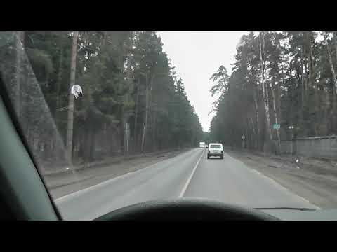 Уаз Патриот виляет по дороге. ПОДРУЛИВАНИЯ