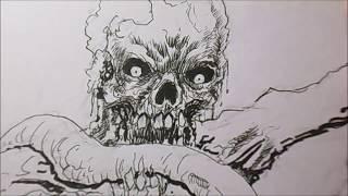 Why I Draw Horror