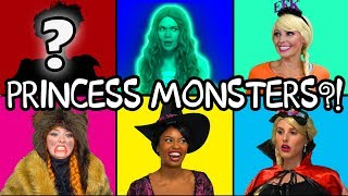 DISNEY PRINCESS MONSTERS (Halloween Prank by Maleficent) Totally TV