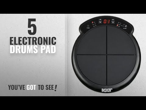 Top 10 Electronic Drums Pad [2018]: Kat Percussion KTMP1