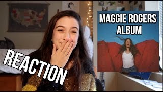 "Maggie Rogers ""HEARD IT IN A PAST LIFE"" Reaction/Review!"