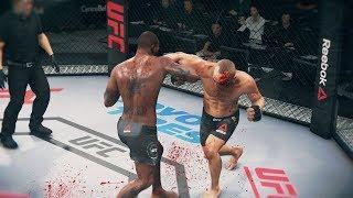 КРОВАВАЯ РУБКА в UFC 3  МИРОВОЙ  TOP 10